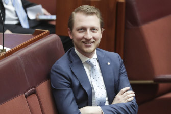 Senator James Paterson says there is no reason why the whole of the organisation shouldn't be listed.