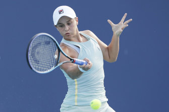 Ash Barty says she is fit after being forced out of the French Open with injury.