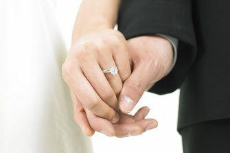 Once we're married, our union won't change our lives all that much.