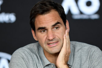 Roger Federer is in a race against time to recover from a knee injury before the Australian Open.