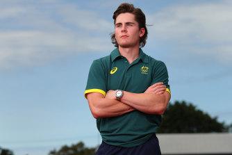 Australian sprinter Rohan Browning.