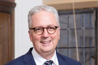 Mark Scott is stepping into the top job at the University of Sydney.