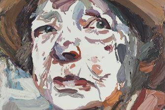 Ben Quilty's Archiblad Prize winning portrait of his mentor, Margaret Olley.