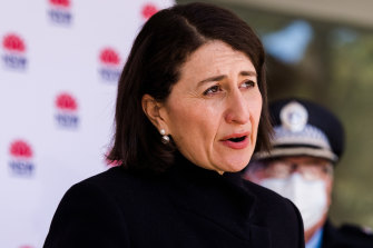 NSW Premier Gladys Berejiklian says the pilot program will be revisited once the lockdown ends.
