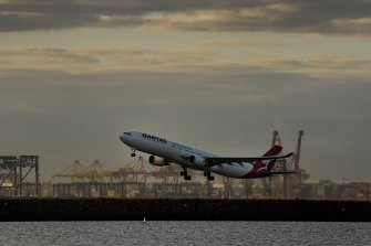The government could rely on airlines such as Qantas to get stranded Australians home.
