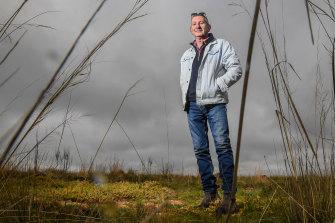 Reg Abrahams is project co-ordinator at Wurdi Youang grasslands regeneration project near Little River.