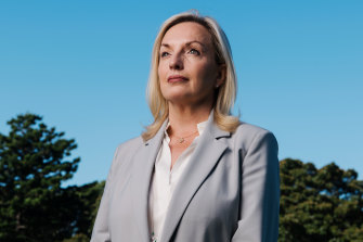 Former Australia Post chief executive Christine Holgate.