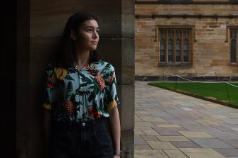 Year 12 graduate Charlotte Lowe is among the majority of students hoping they can enjoy a full university campus experience next year.