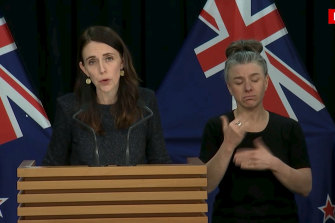 New Zealand Prime Minister Jacinda Ardern announced on Tuesday that authorities had found four cases of the coronavirus in one Auckland household from an unknown source.
