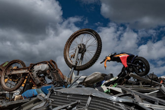 Weak scrap metal prices and falling car sales have hurt metals recycler Sims Metal Management.
