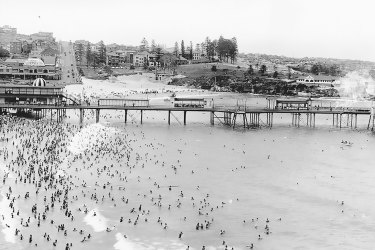 Coogee Pier, the shark in the Shark Arm mystery was caught a few kilometres from here in 1935.