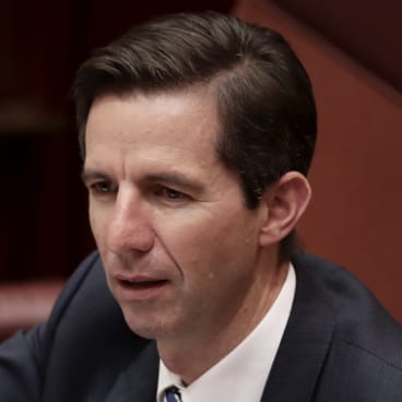 Minister for Education and Training Simon Birmingham.