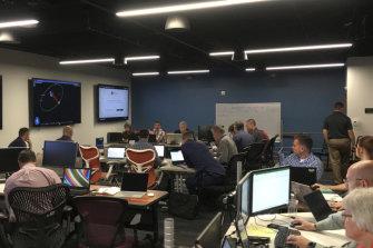 Exercises at Saber Astronautics' Colorado control station.