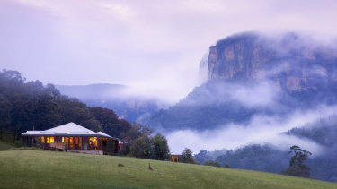 The Wolgan Valley resort is a popular destination for high-end Chinese tourists.