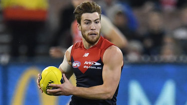 Jack Viney continues to battle foot injuries.