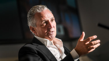 Telstra CEO Andy Penn told staff about the job cuts on Wednesday.