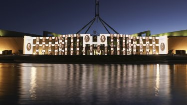 The seat of Australian democracy ... no code of conduct needed.