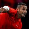 Shoulder injury to sideline Kyrgios until Davis Cup