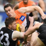 How it happened: GWS Giants survive stunning Magpie revival