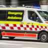 Child rushed to hospital after being struck by car in Hunters Hill