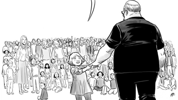A cartoon about school shootings is breaking people's hearts