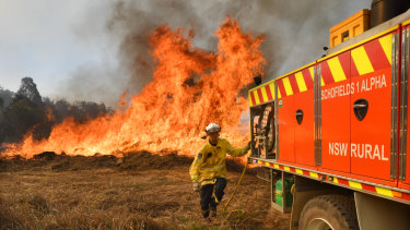 "Firefighters are preparing for ""hot and windy"" conditions on Thursday."