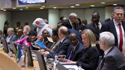 EU, AU urge Congo leader to unite country after tense polls