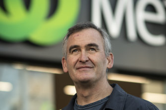 Woolworths boss Brad Banducci says consumers are tired and frustrated.