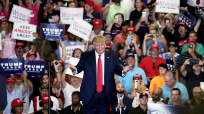 'You don't have any choice, you have to vote for me': Trump steals the message in North Carolina