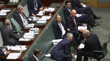 Gender equity is not apparent on the Coalition's government benches but that can and should change.