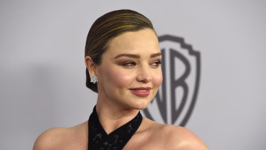 Miranda Kerr's enthusiasm for celery juice during a global pandemic was not to everyone's taste.