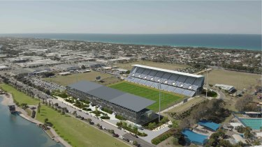 Initial upgrades to the existing grandstand, along with a new eastern stand, could boost capacity to 16,618 by 2023.