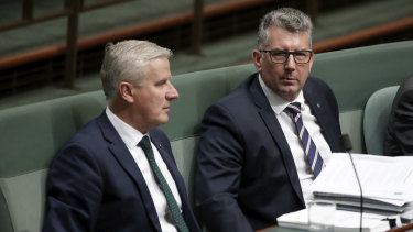 Keith Pitt backed the leadership of Deputy PM Michael McCormack.