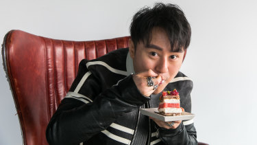 """""""This cake is a phenomenon, not just a fad"""": Louis Li, new owner of Black Star Pastry."""