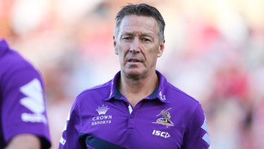 One-club coach: Craig Bellamy has made the call to stay with the Storm.