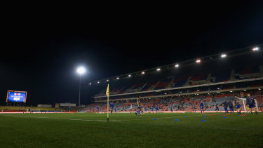 The Jets will host the Wanderers in the A-League on Friday night at McDonald Jones Stadium.
