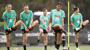 The Matildas are currently preparing for the Women's World Cup in France, which kicks off in June.