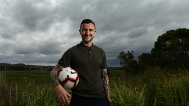 Irishman Roy O'Donovan is Robbie Fowler's first high-profile signing for the Roar.