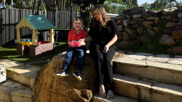Lidia Soulaine is using a new type of behaviour management program to help her understand her four-year-old son Remy, and to improve his behaviour.