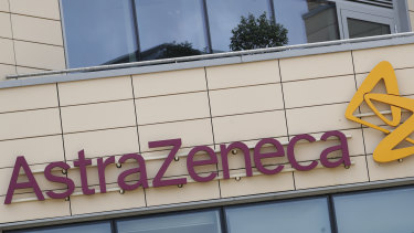 Cambridge-based AstraZeneca's shares had risen about 11 per cent this year.