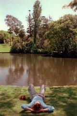 The lake at Melbourne's Botanic Gardens