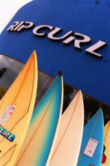 Kathmandu acquired Rip Curl last October for $350 million.