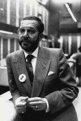 """""""I rest easy."""" Rene Rivkin on October 20, 1987."""