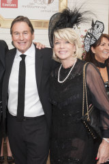 Happy couple: Jeffrey Browne and Rhonda Wyllie.