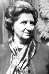 Ruth Dobson on May 14, 1974, shortly before she left Australia take up her post as Ambassador to Denmark