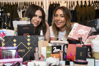 Beauty and the bushfires ... Monica Gingold (left) and Tahli Engel are among those in the fashion industry holding  sales this week to benefit fire charities.