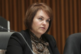 Labor senator Kimberley Kitching.
