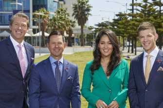 Glenn McGrath, Ricky Ponting, Mel McLaughlin and Tim Paine were among Seven's cricket commentary signings.