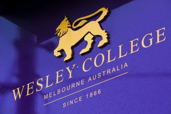 Wesley College is one of Victoria's most prestigious schools.