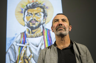 Musician Paul Mac has made a Midsumma Festival show about the trauma of when a George Michael mural on his home was defaced after the same-sex marriage survey result was conducted.